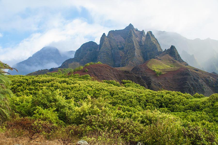 Na Pali Coast Photograph - Kalalau Valley - Kauai Hawaii by Brian Harig