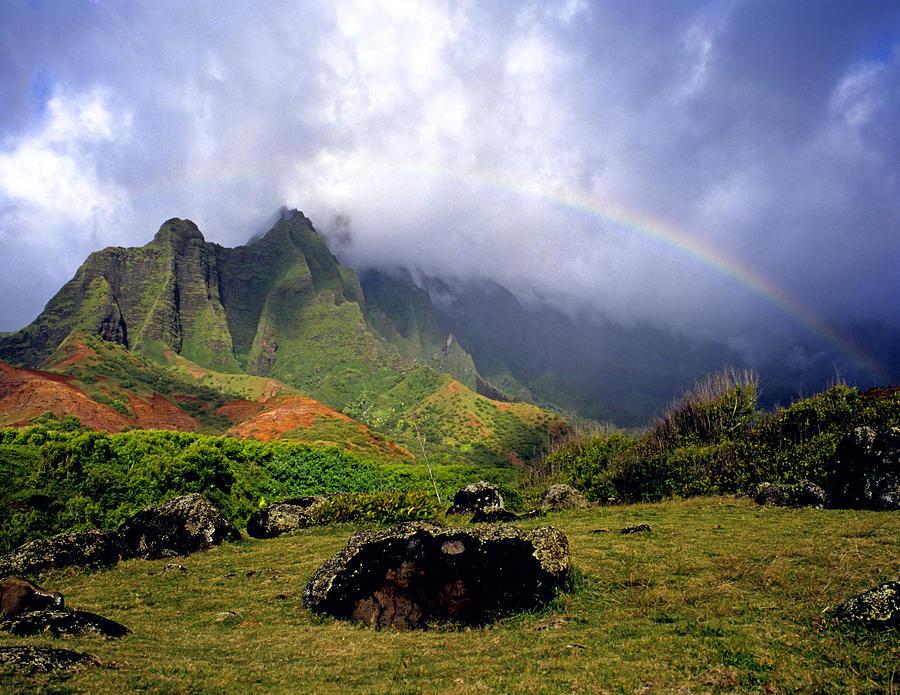 Hawaii Photograph - Kalalau Valley Kauai by Kevin Smith