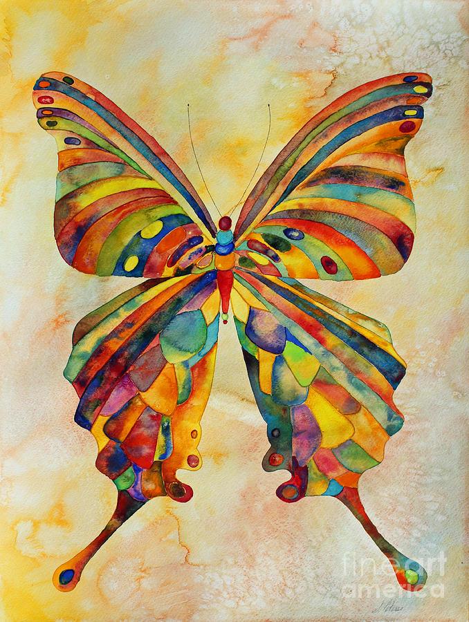 Original Painting - Kaleid by Shannan Peters