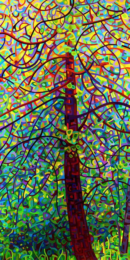 Landscape Painting - Kaleidoscope by Mandy Budan