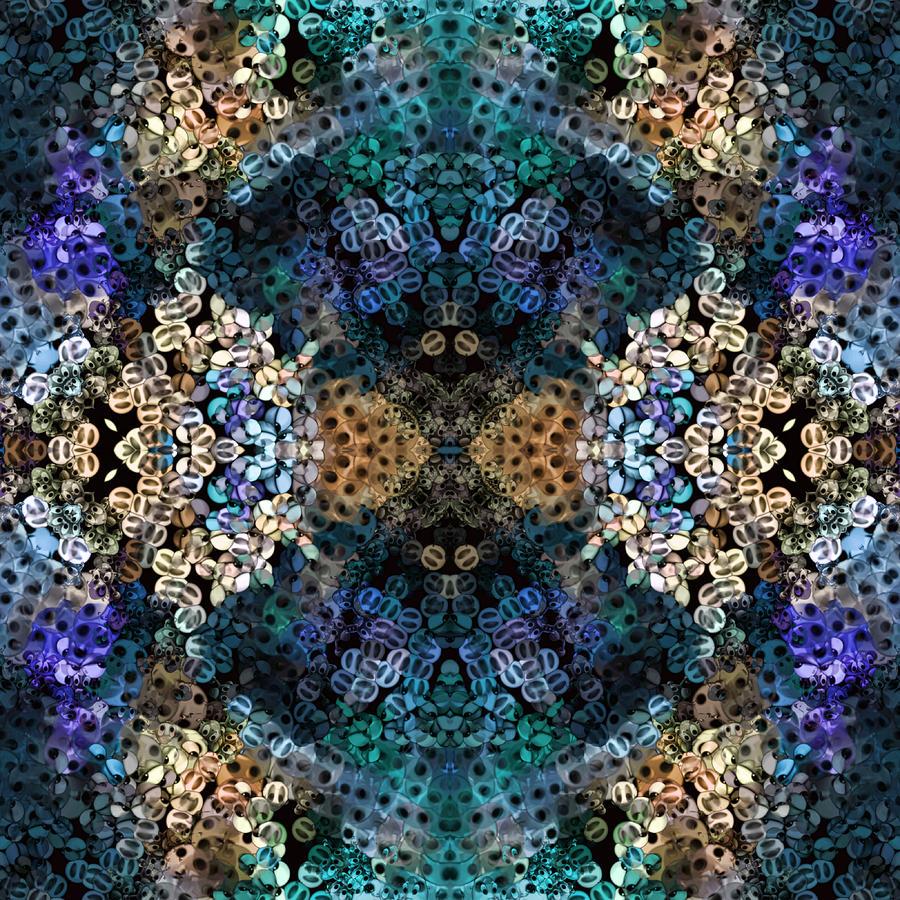 Abstract Digital Art - Kaleidoscopic 1 by Gabour Demans