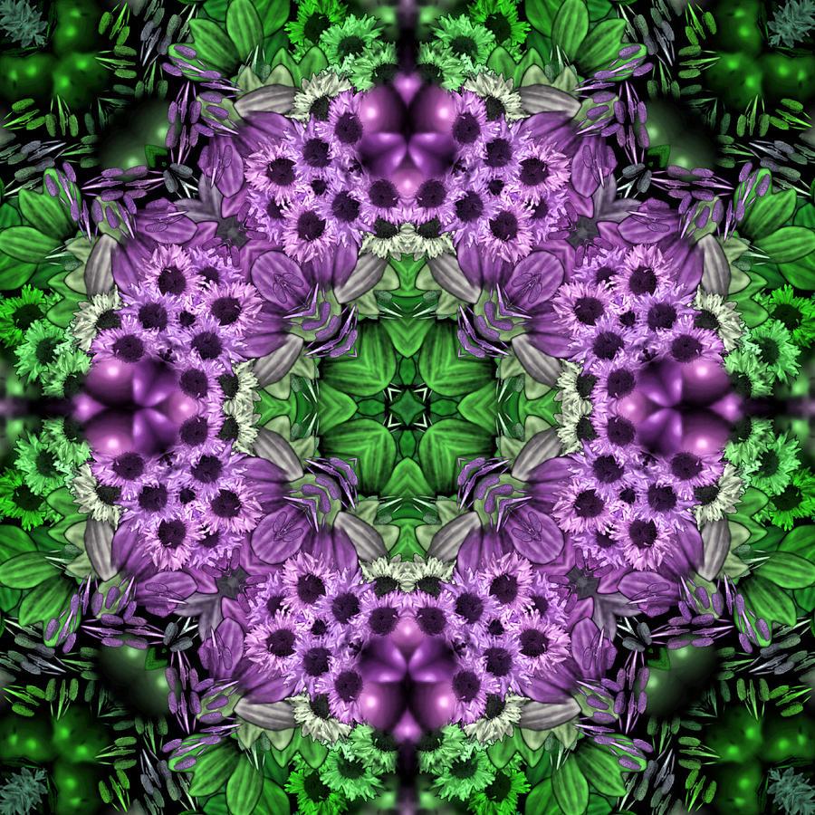 Abstract Digital Art - Kaleidoscopic 2 by Gabour Demans