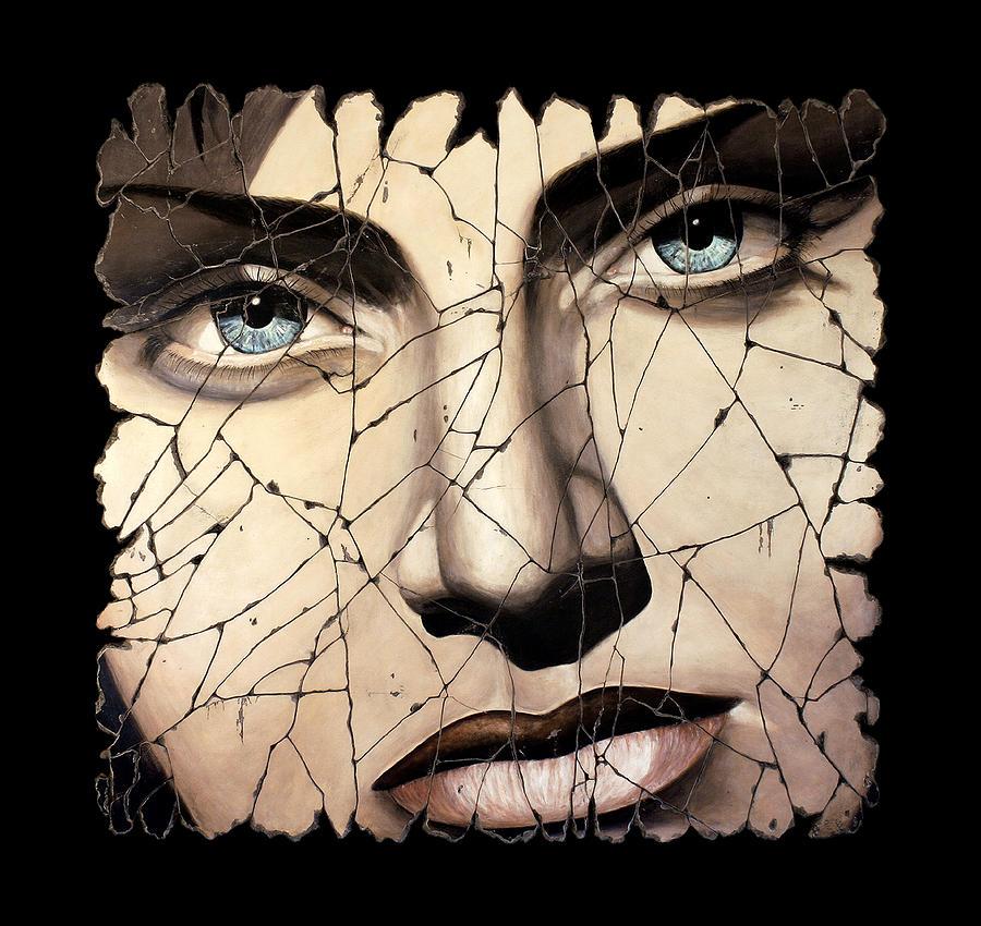 Face Painting - Kallisto by Steve Bogdanoff