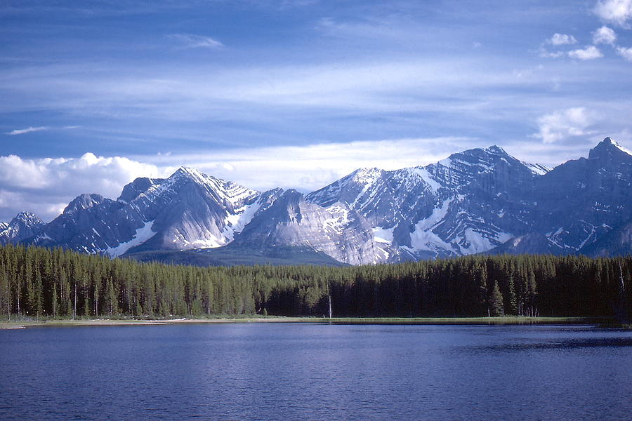 Kananaskis Mountains Lake by Jim Sauchyn