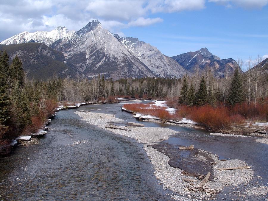 Kananaskis River - Lougheed Provincial Park, Kannanaskis, Alberta Photograph