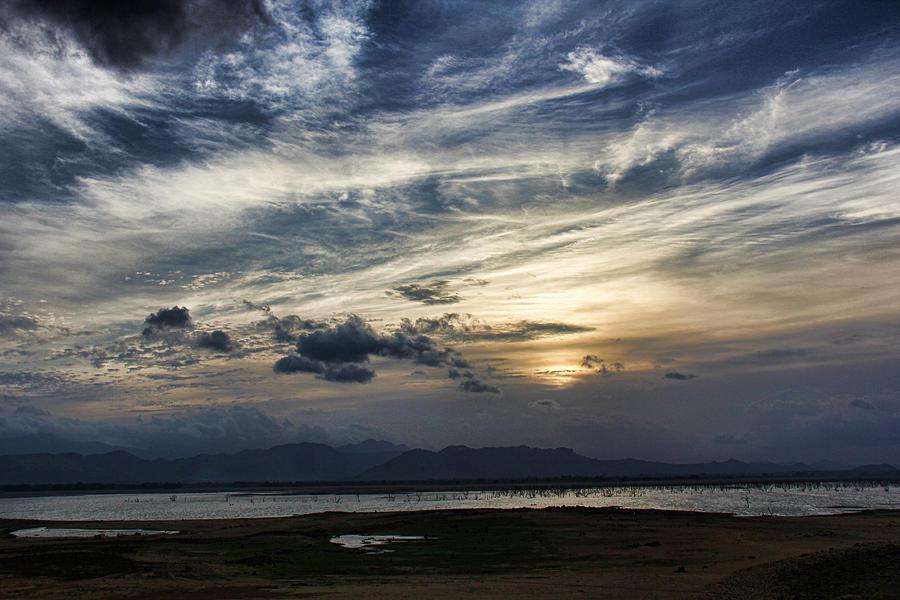 Kandalama Lake Photograph - Kandalama Lake by Sanjeewa Marasinghe