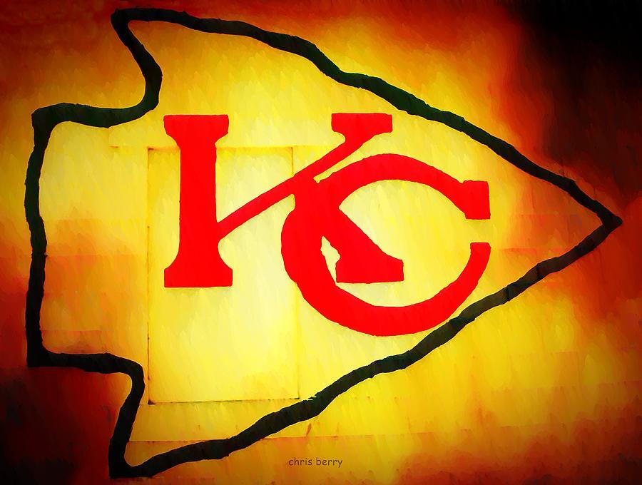 Kansas City Chiefs Graffiti Photograph by Chris Berry