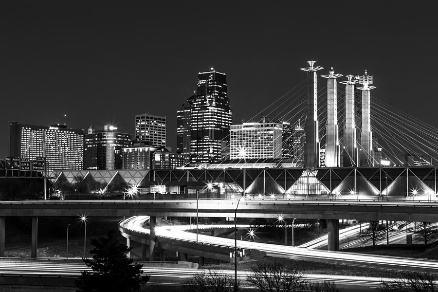 Kansas city photograph kansas city night by kyle howard