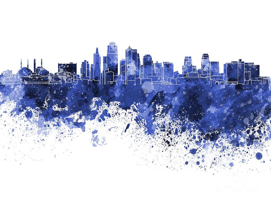 Paint Color Cityscape