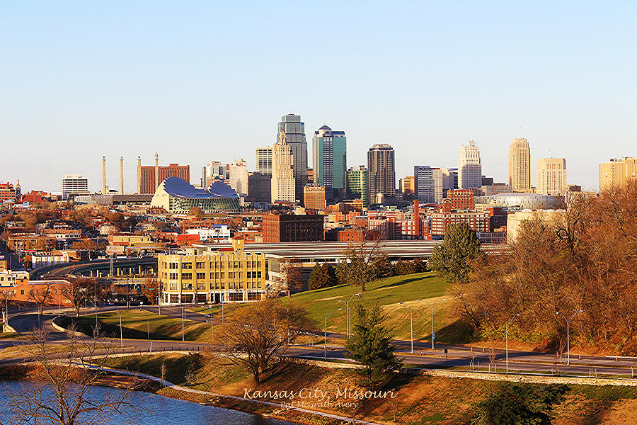 Kansas City Photograph - Kansas City Skyline by Pat McGrath Avery