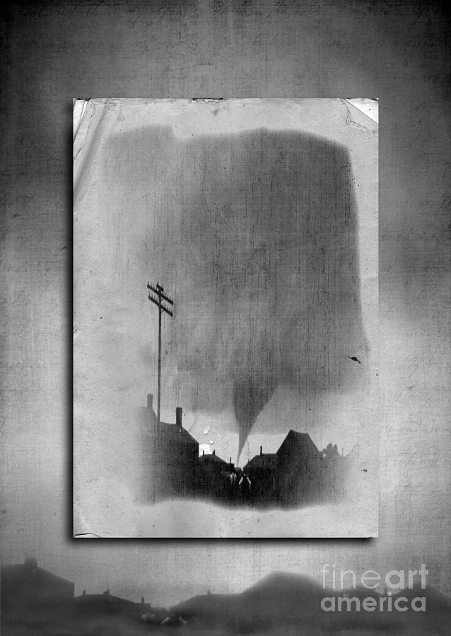 Twister Photograph - Kansas by Edward Fielding