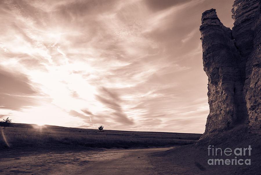 Kansas Monument Rocks by Anna Burdette