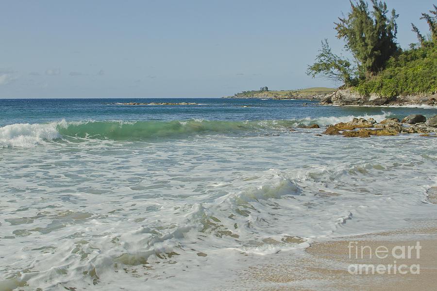 Aloha Photograph - Kapalua Dt Fleming Beach Park Honokahua Bay Maui Hawaii by Sharon Mau