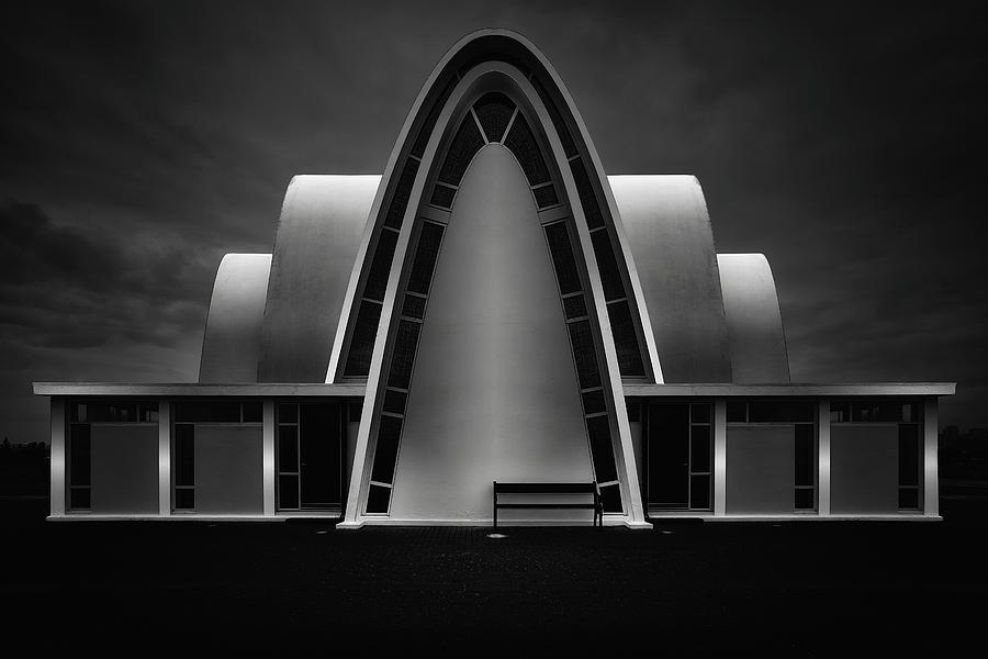 Modern Photograph - Ka??pavogskirkja by Oliver Buchmann