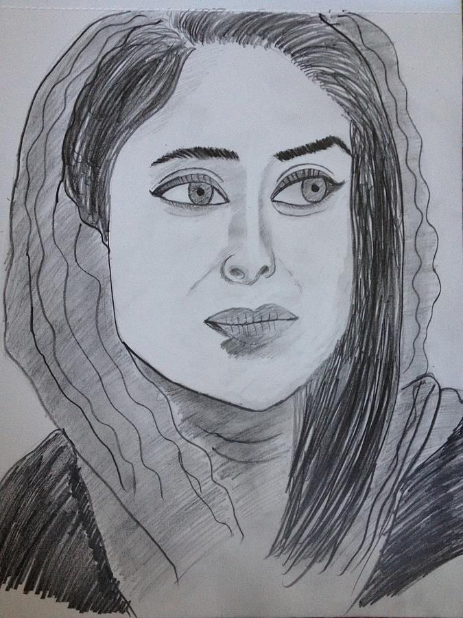 Kareena Kapoor Painting by Neha  Shah