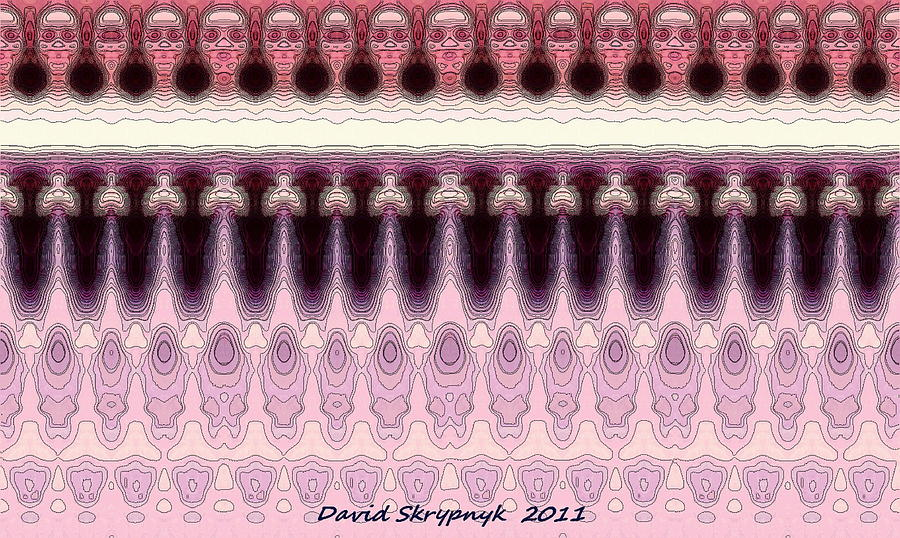 Karen Digital Art - Karen Multiple Mirrored by David Skrypnyk
