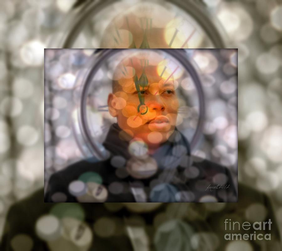 Fania Simon Mixed Media - Karim Wade - Greatness Begets Greatness by Fania Simon