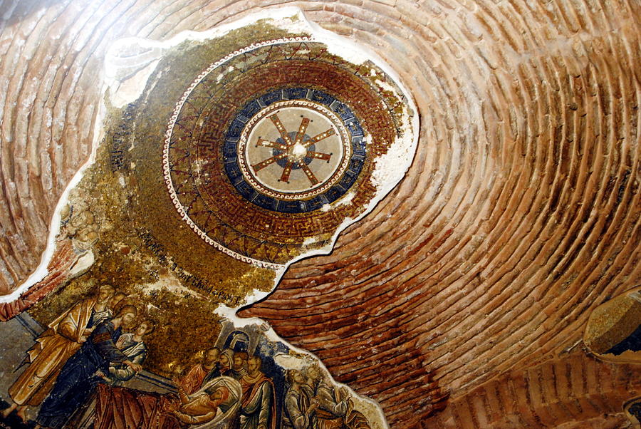 Kariye Museum - Ceiling Detail Photograph