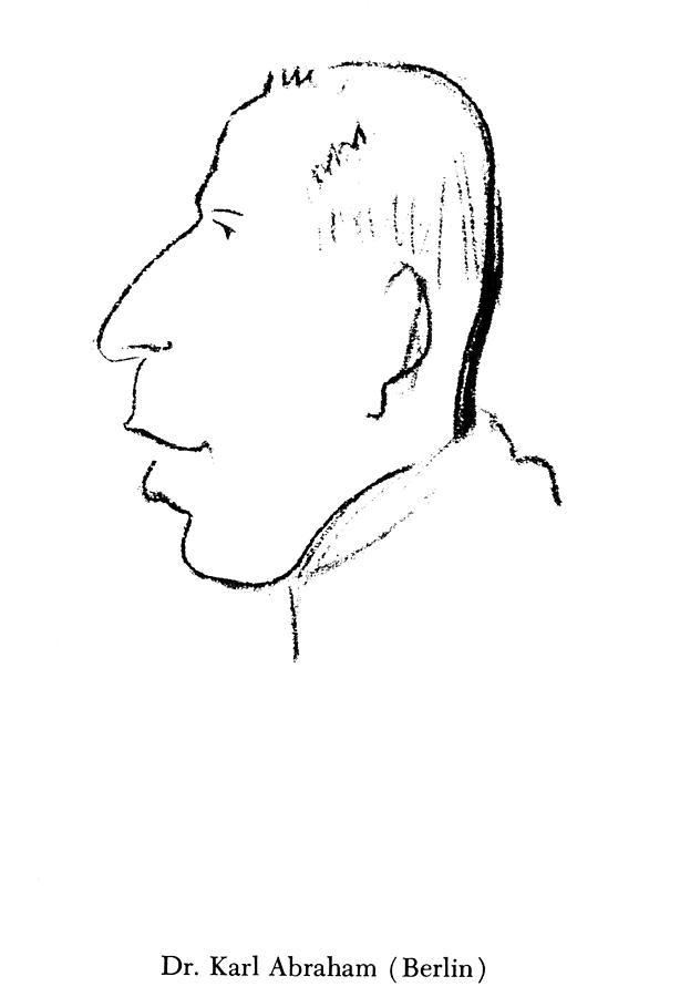 1924 Drawing - Karl Abraham (1877-1925) by Granger