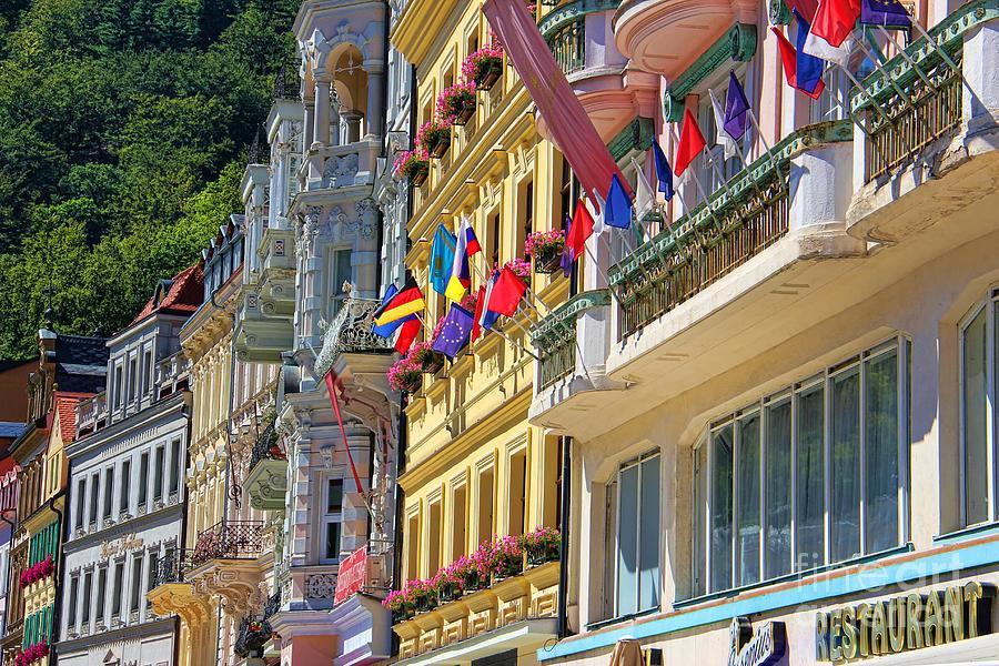Karlovy Photograph - Karlovy Vary by Mariola Bitner