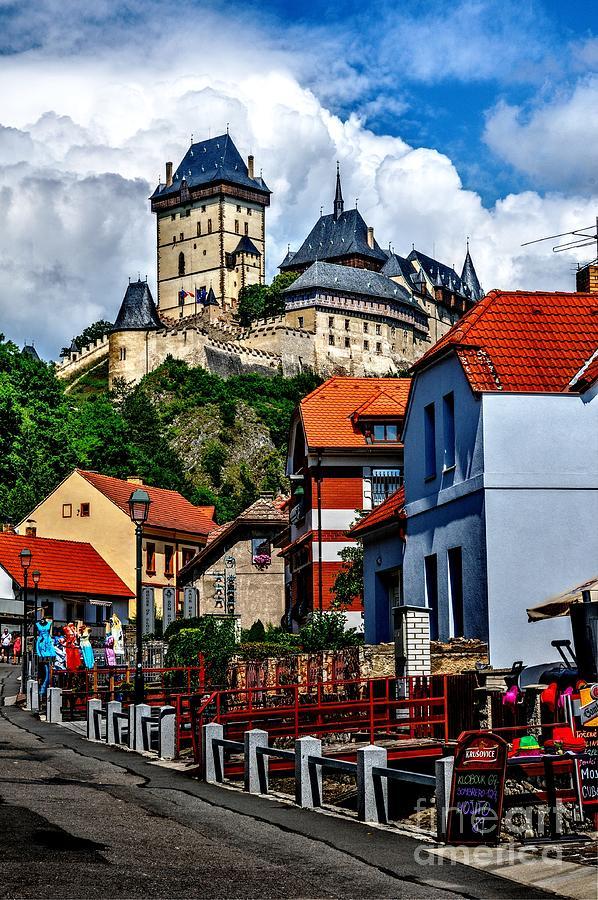 Karlstejn Castle In Prague Photograph