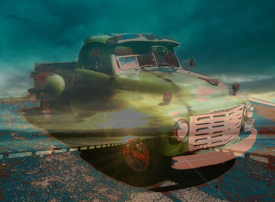 Studebaker Photograph - Karma Cruiser by Laureen Murtha Menzl
