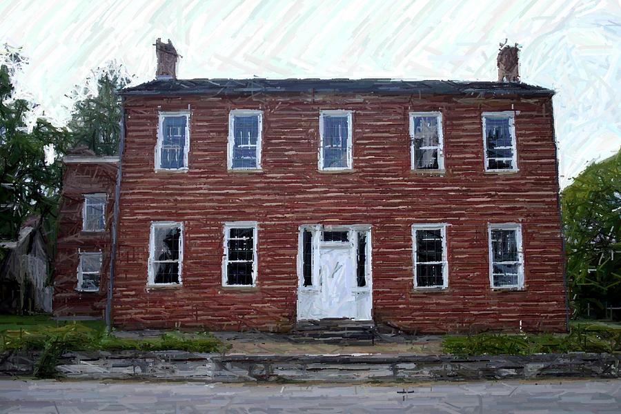 Karrick-parks House Photograph - Karrick Parks House - Perryville Ky by Thia Stover