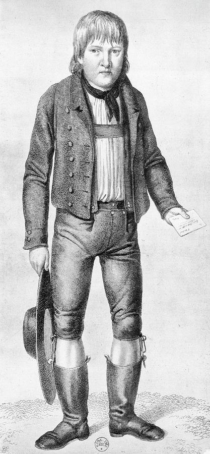 Kaspar Hauser (1812?-1833) Painting By Granger