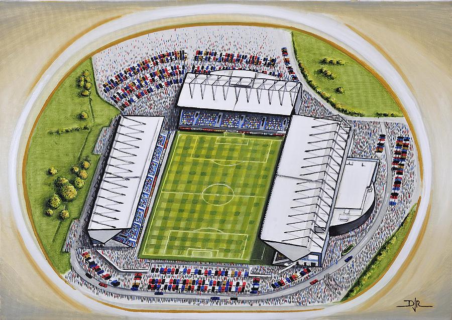99c7754c0 Kassam Stadium - Oxford United Painting by D J Rogers
