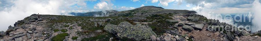 Katahdin Panorama by Glenn Gordon