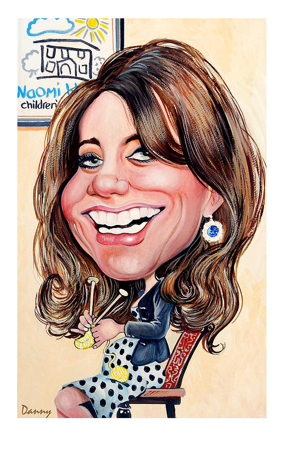 Kate Painting - Kate Middleton. Duchess Of Cambridge by Daniel Byrne