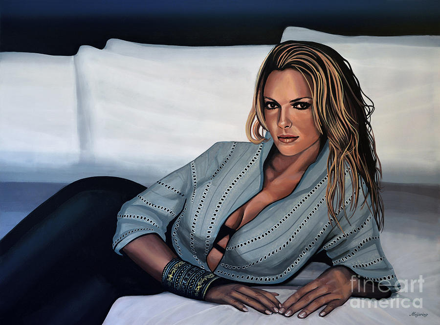 Katherine Heigl Painting - Katherine Heigl by Paul Meijering