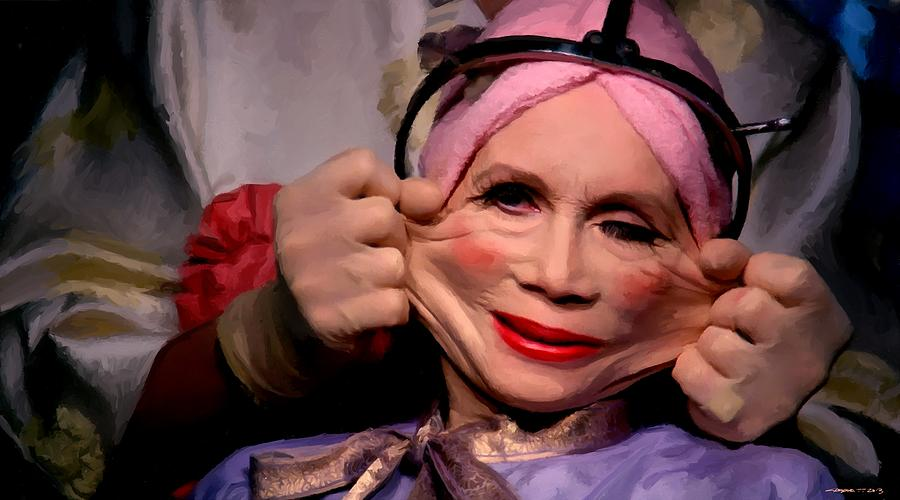 Brazil Digital Art - Katherine Helmond in the film Brazil by Gabriel T Toro
