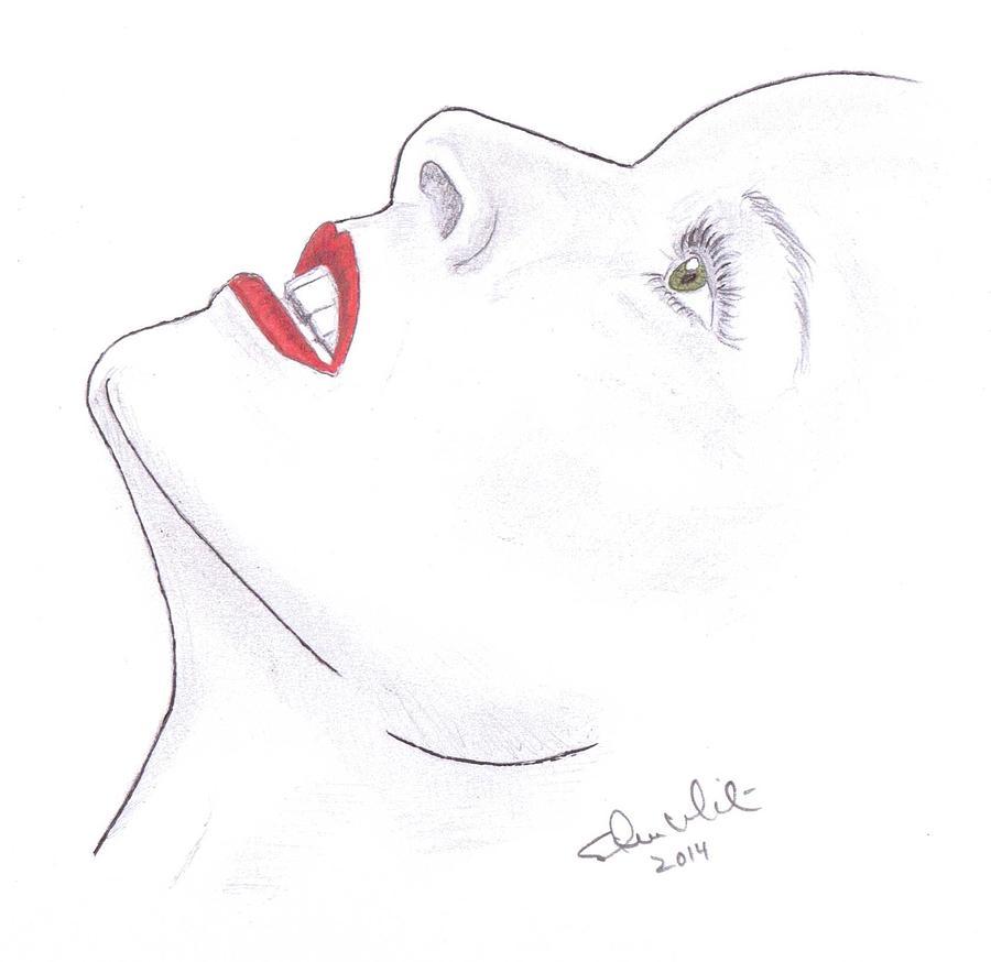 Katherine Hepburn Drawing - Katherine by Steven White