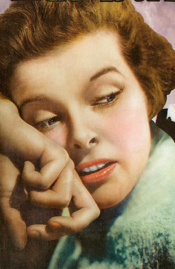 Kathryn Hepburn Digital Art - Kathryn Hepburn by Studio Artist