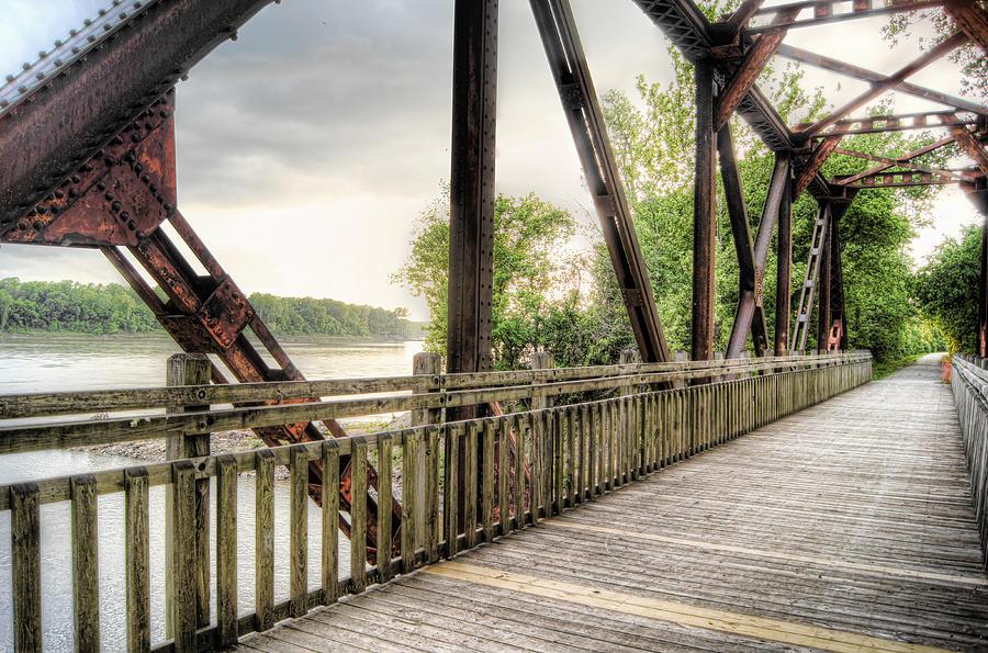 Katy Photograph - Katy Trail Near Easley by Cricket Hackmann