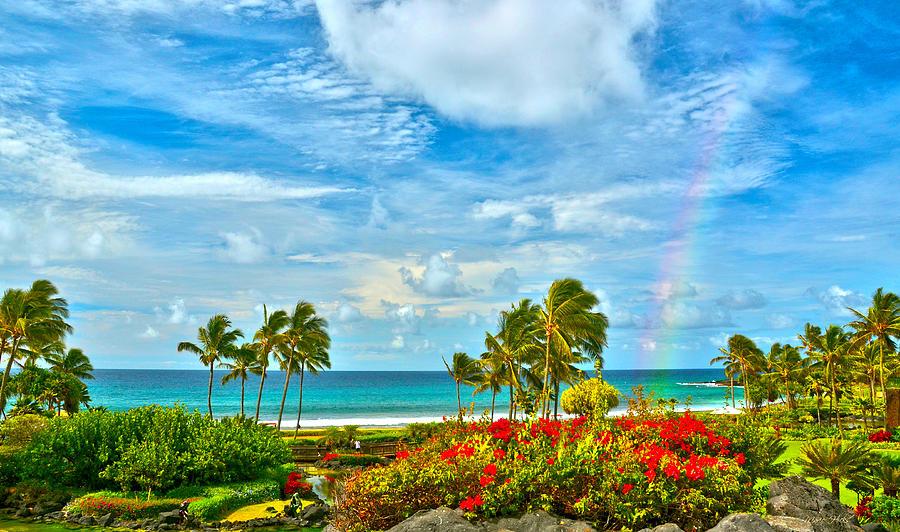 Hawaii Photograph - Kauai Bliss by Marie Hicks