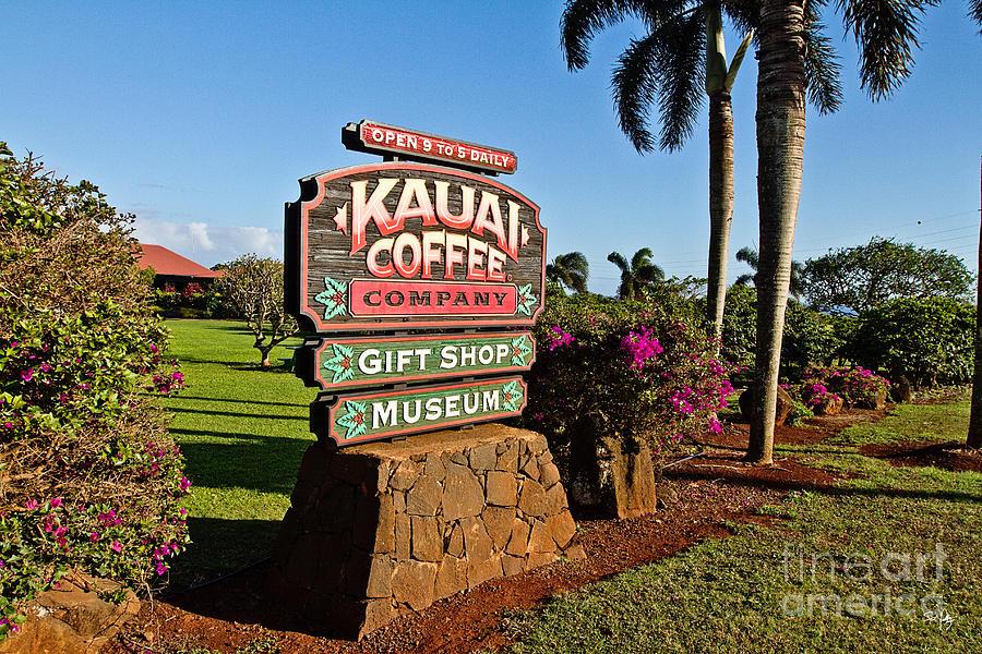 Coffee Photograph - Kauai Coffee by Scott Pellegrin