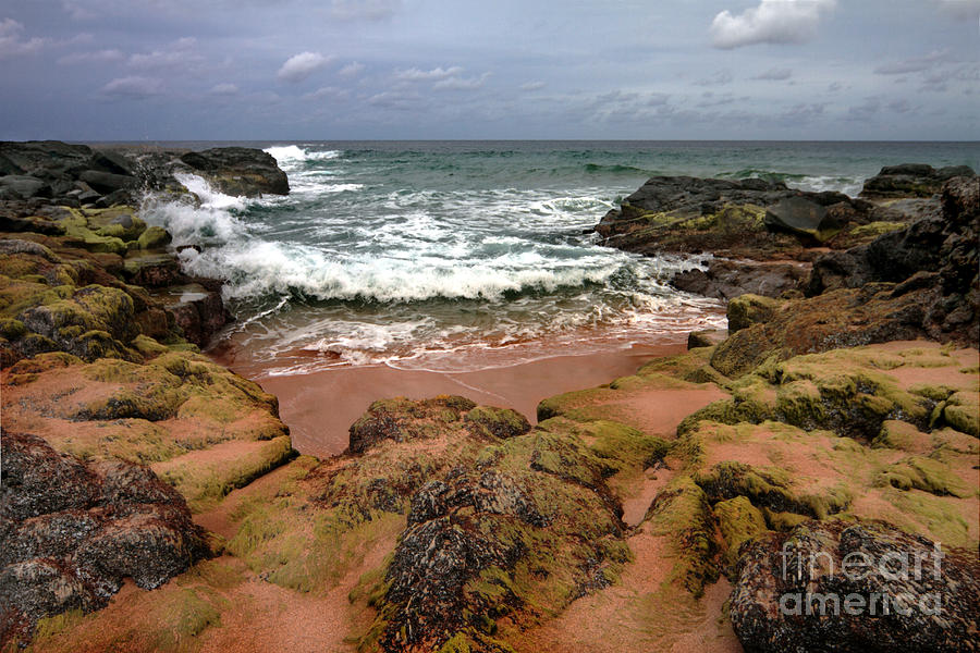 Beach Photograph - Kauai Seascape I by Maxwell Amaro