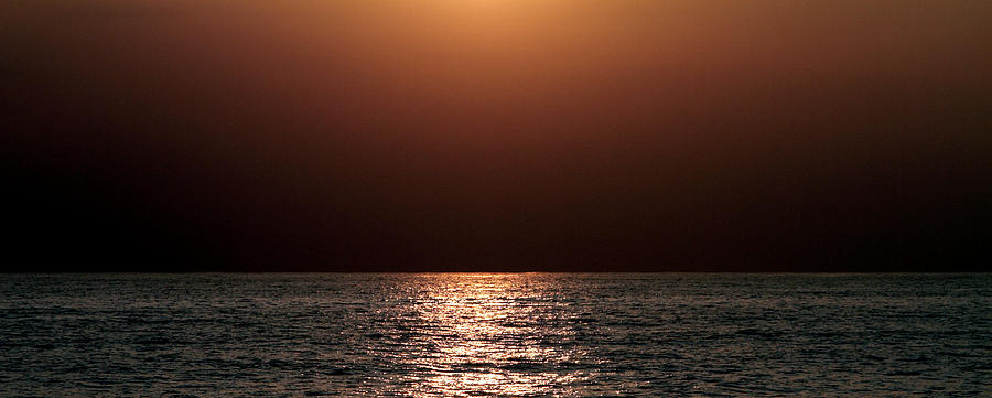 Sea Photograph - Kauai Sunrise 1 by Maxwell Amaro
