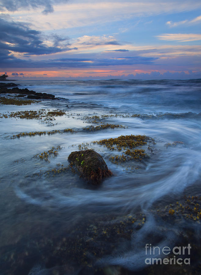 Koloa Photograph - Kauai Tides by Mike  Dawson