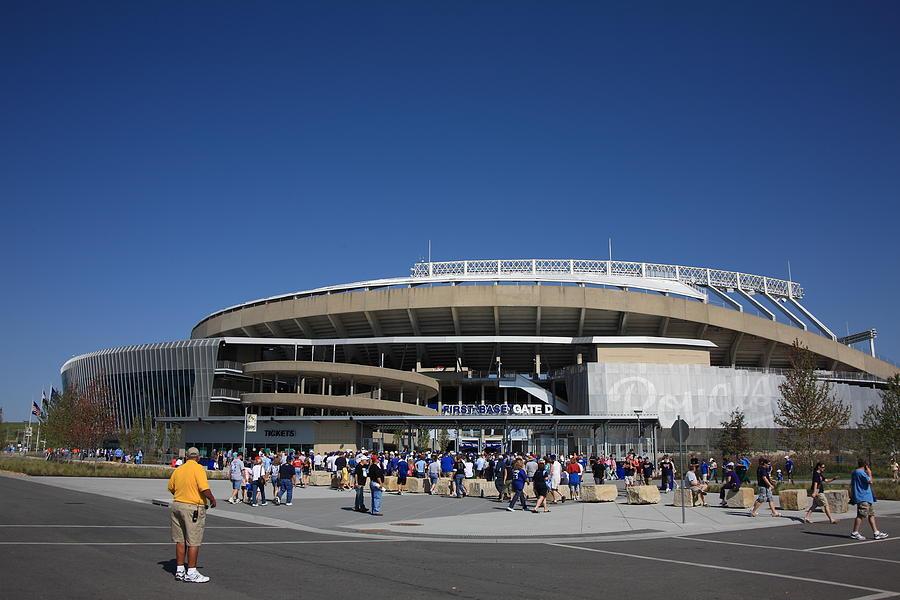 American Photograph - Kauffman Stadium - Kansas City Royals by Frank Romeo