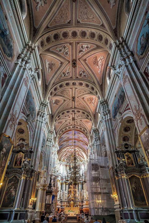 Kaunas Cathedral Of St. Peter And Paul Photograph by Angel Villalba