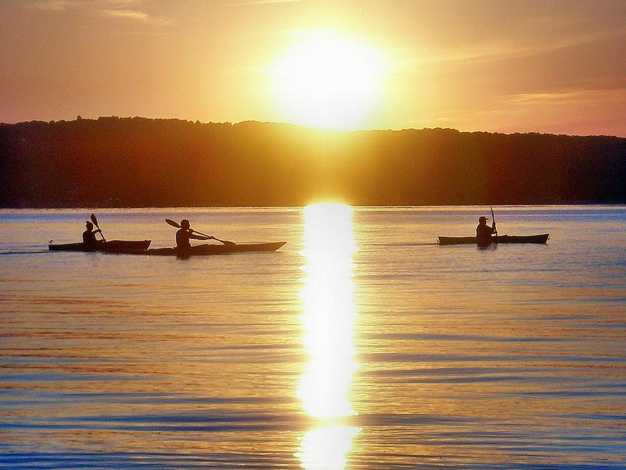 Kayak Photograph - Kayak Family by Bill Noonan