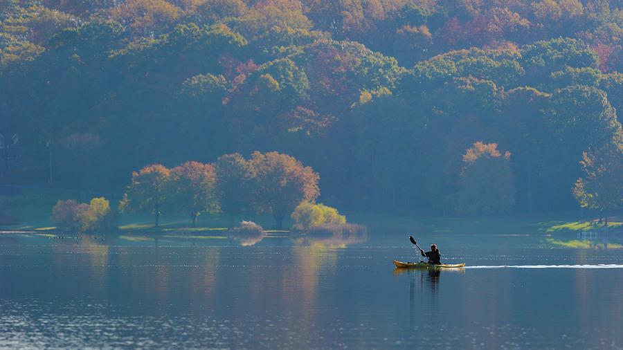 Kayaking Photograph - Kayaking by ??? / Austin