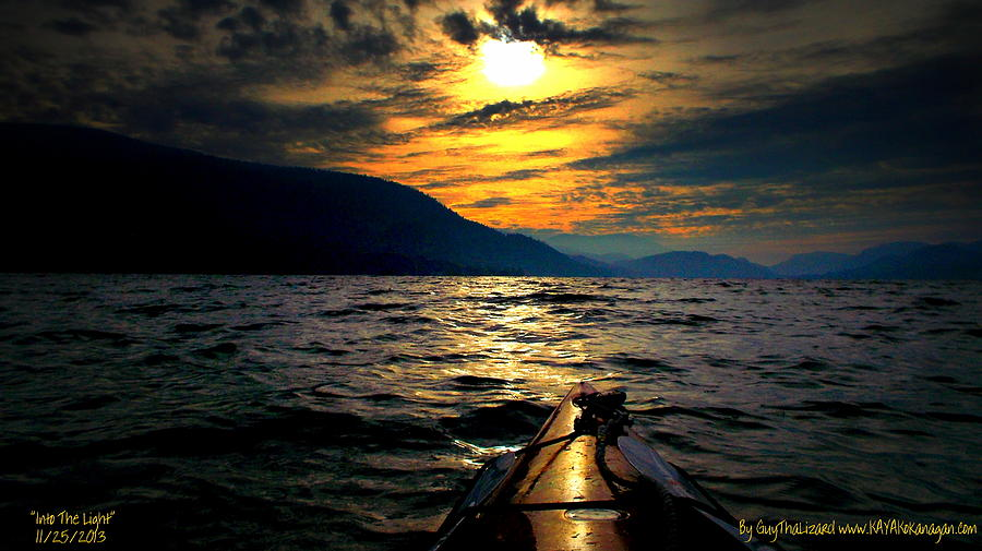Kayaking Photograph by Guy Hoffman