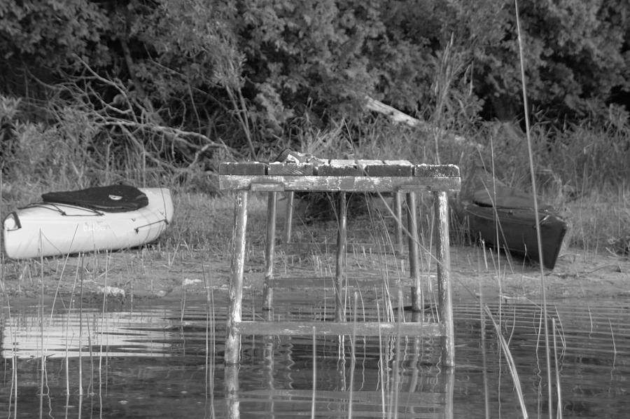 Kayaks Photograph - Kayaks by Scott Angus