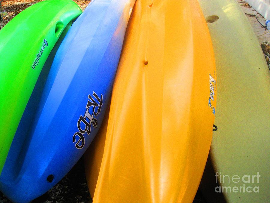 Kayaks by Sonia Flores Ruiz