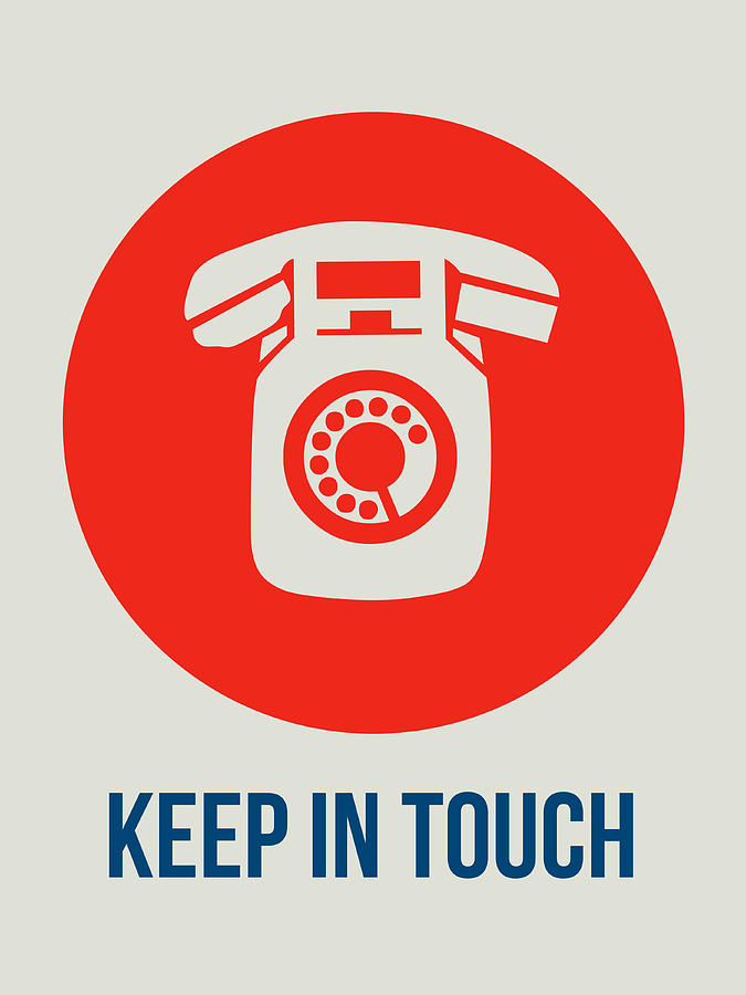 Funny Digital Art - Keep In Touch 2 by Naxart Studio