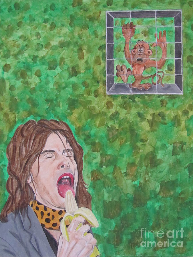 Steven Tyler Painting - Keep It Caged by Jeepee Aero